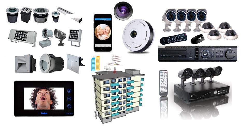 نصب آنتن مرکزی - نصب دوربین مدار بسته